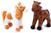 Small Foot Knuffeldieren Paarden Penny En Molly