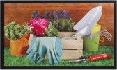 Deurmat Gardentools 45x75cm Hamat