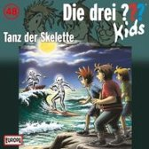 Die drei ??? Kids 48: Tanz der Skelette (drei Fragezeichen) CD