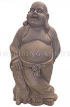Lucky Boeddha staand donkergrijs   GerichteKeuze