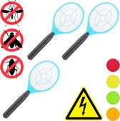 relaxdays 3x elektrische vliegenmepper - tegen muggen   vliegen - vliegenmepper elektrisch