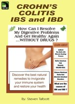 Crohn's, Colitis, IBS and IBD. How Can I Resolve My Digestive Problems And Get Healthy Again ...WITHOUT DRUGS ?