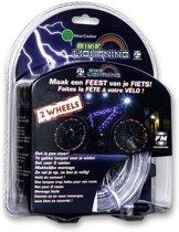 Wheely Bright Bike Lightning Groen 2 stuks