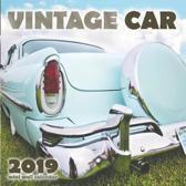 Vintage Car 2019 Mini Wall Calendar (UK Edition)