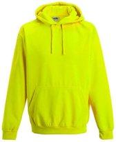 Electric hoodie, Kleur Electric Geel, Maat XL