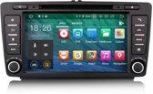 Touchscreen Android autoradio navigatie voor Skoda Octavia 2009-2012 Met ingebouwde wifi,