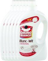 Omino Bianco Wit - 6 x 2L (180 wasbeurten) - Vloeibaar wasmiddel - Voordeelverpakking