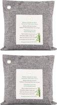 100% Natuurlijke Bamboe Luchtreiniger - Luchtfilter - Luchtverfrisser - Geurvreter - 2x500 Gram Pack