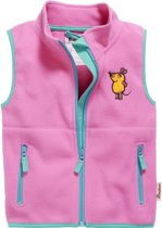 Playshoes Bodywarmer Fleece Muis Junior Roze Maat 80