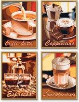 Schilderen op Nummer - Koffiepauze