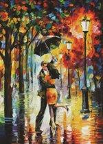 Dansen in de Regen - Leonid Afremov (1000)