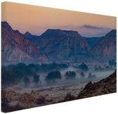 Woestijngebied Midden-Oosten Canvas 60x40 cm - Foto print op Canvas schilderij (Wanddecoratie)