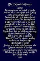The Defender's Prayer For Him Sailor Journal