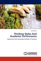 Thinking Styles and Academic Performance