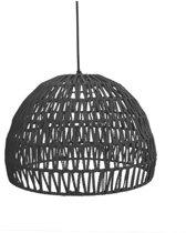 LABEL51 Touw  - Hanglamp - Zwart - 38 cm