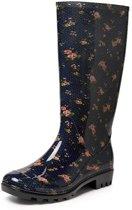 Gevavi Boots Sara PVC Blauw Regenlaarzen Dames
