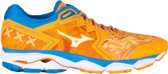 Mizuno Wave Ultima 10 Sportschoenen - Maat 45 - Mannen - Oranje:blauw/wit