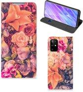 Samsung Galaxy S20 Plus Smart Cover Bosje Bloemen
