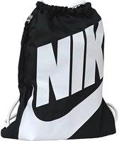 Nike  Heritage Gymsack Sporttas Unisex - Zwart