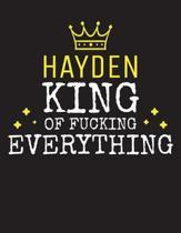 HAYDEN - King Of Fucking Everything
