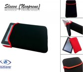 i12Cover - Universele cover 6/7 inch - Zwart-Rood