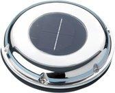 Trem RVS Dekventilator op zonne-energie 20m³/uur