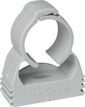 WALR pijpbeugel enkel pijps StarQuick, grijs, pijpbeugel kunstst