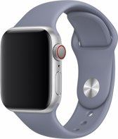 Devia Siliconen bandje - Apple Watch Series 1/2/3/4 (38&40mm) - Grijs