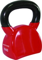 Tunturi Kettlebell - 10 kg - Rood