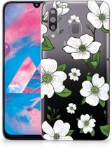 Samsung Galaxy M30 TPU Case Dogwood Flowers