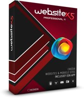 Incomedia WebSite X5 Professional 11 - Nederlands/ Box