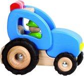 Goki Houten tractor 14,4 x 13 x 12,2 cm