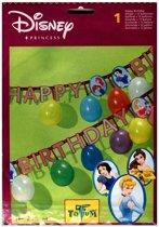 Disney prinsessen leterslinger Happy Birthday