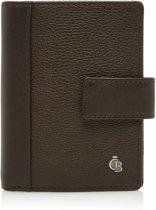 Castelijn & Beerens - Vivo Mini wallet 10 pasjes RFID  | mocca - Mocca