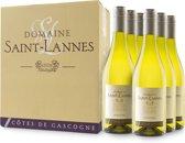 St. Lannes signature Côtes de Gascogne blanc - 6x 75 cl