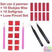 "Diamond Painting ""JobaStores®"" Pennen + Wax + Softgrips + Pincet Set"