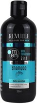 Revuele Seawater & Minerals 2 in 1 Shampoo For Men 300ml.