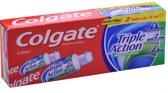 Tandpasta Golgate Triple Action -,2 x 75 ml - Original Mint - Munt