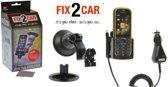 Fix2Car Actieve Houder voor Nokia 3720 Classic