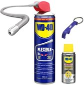 WD-40 Multispray Flexible 400ml + Siliconenspray 50ml Promo Bundel