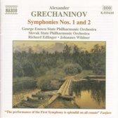 Grechaninov: Symphonies nos 1 & 2 / Edlinger, Wildner et al
