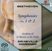 Beethoven: Symphonies Nos. 1 & 2 - Marriner -SACD- (Hybride/Stereo/5.1)