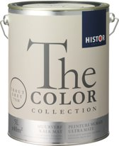 Histor The Color Collection Muurverf - 5 Liter - Trout Grey