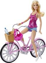 Barbie Met Fiets - Barbiepop