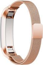 Knaldeals.com Milanees bandje - Fitbit Alta (HR) - rosékleurig