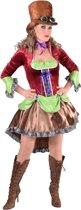 Steampunk Kostuum | Kleurig Manchester Steampunk | Vrouw | Small | Carnaval kostuum | Verkleedkleding