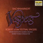 Rachmaninoff: Vespers / Shaw, Shaw Festival Singers