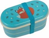 Rexinter Rusty the Fox - Broodtrommel - Blauw