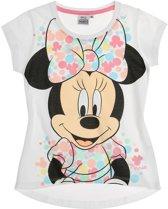 Disney-Minnie-T-shirt-met-korte-mouw-wit-maat-128
