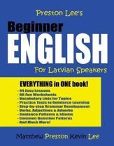 Preston Lee's Beginner English For Latvian Speakers